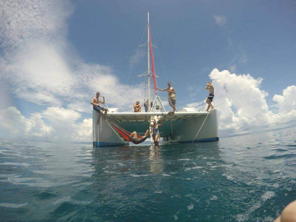 Santana Catamaran Sailing Colombia to Panama