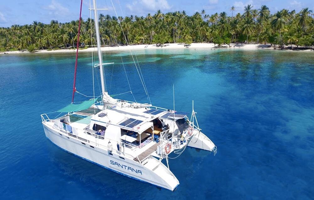 San Blas Catamaran Santana